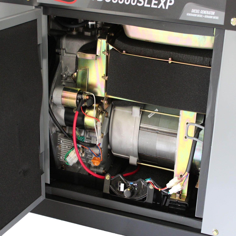 Gerador 8500 TDG8500SLEXP Bivolt 7KVA 13HP Silenciado Toyama