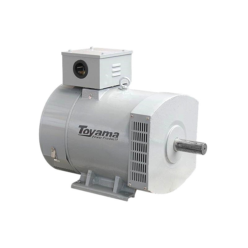 Gerador De Energia Para Roda D'água 20KVA Trifásico 127/220V Toyama