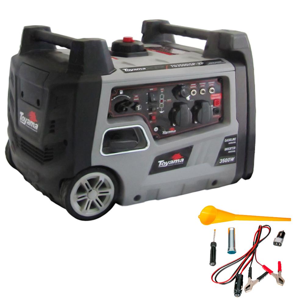 Gerador Digital Gasolina TG3500ISPXP Mono 127v 3.5KW Toyama