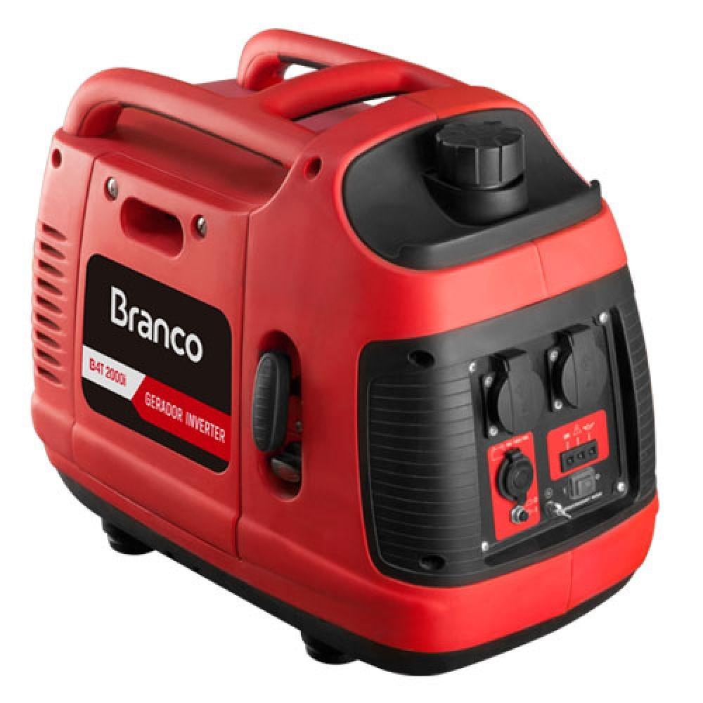 Gerador Gasolina 2000w Inverter Silenciado B4T-2000I Branco