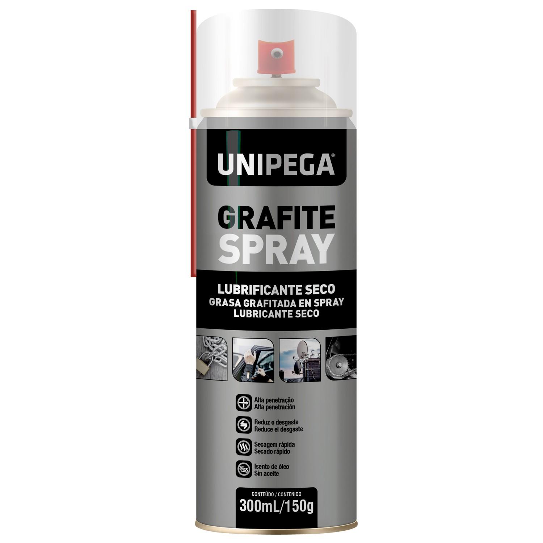 Grafite Spray Aerosol 300ml 150g Unipega