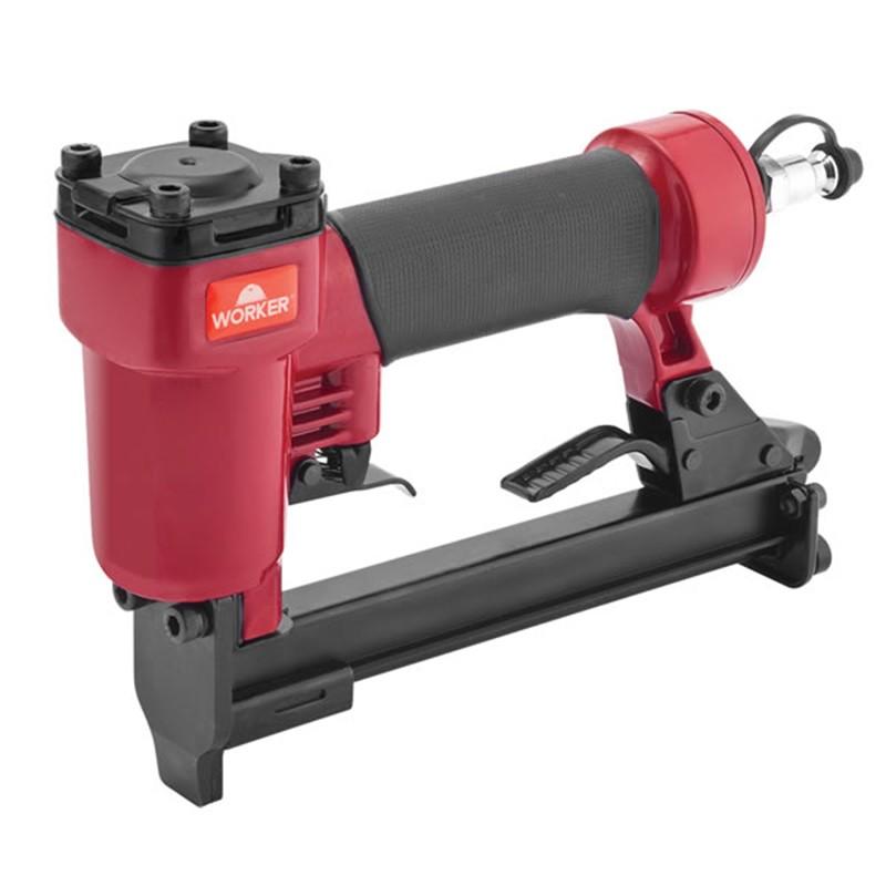 Grampeador Pneumático 6mm-16mm 120 Grampos Worker