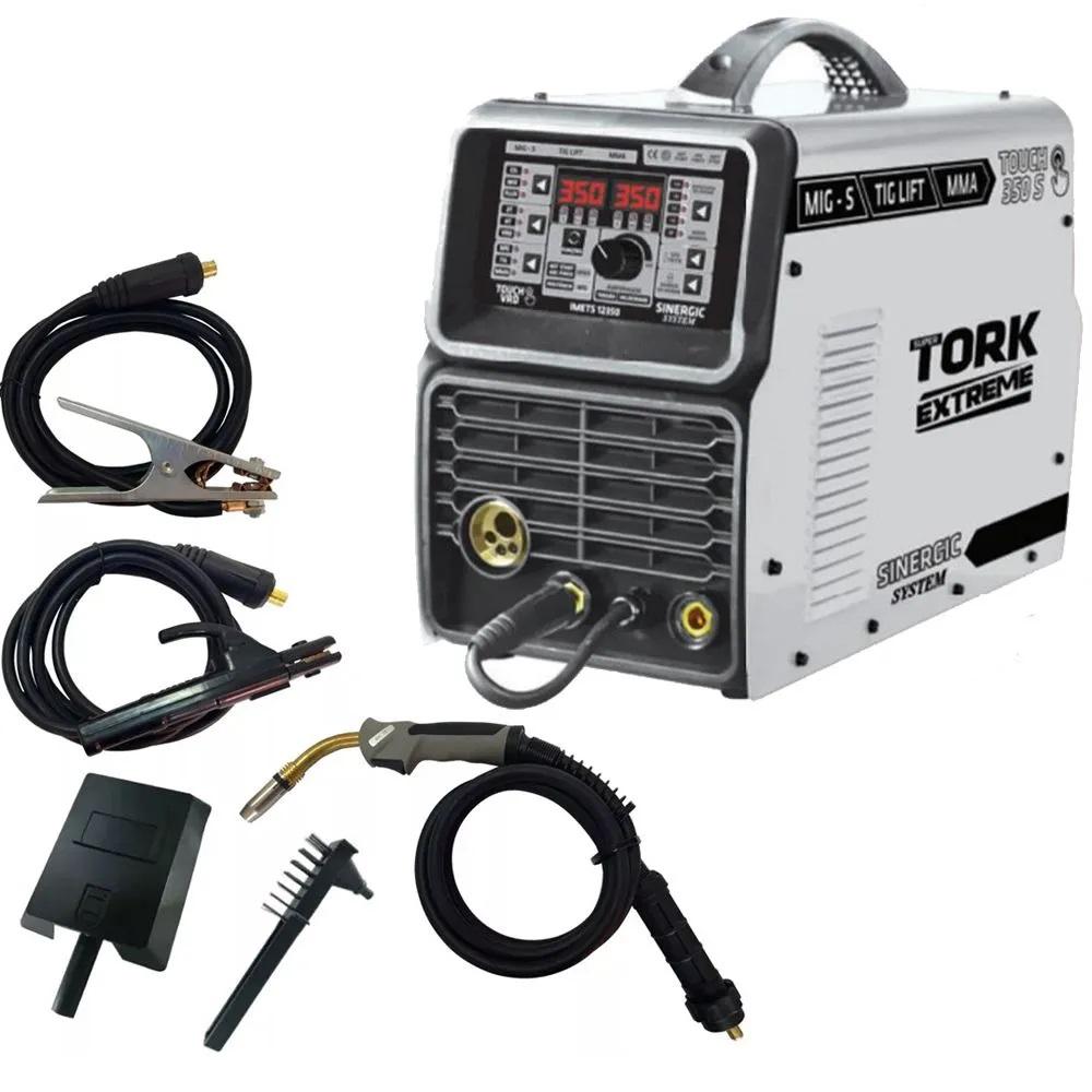 Inversor de Solda 350 Amperes 3 em 1 MIG -MMA- TIG  Tork