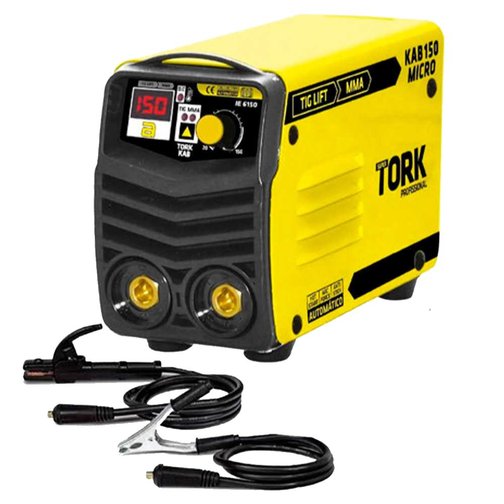Inversor de Solda Micro 150A TIG-LIFT+MMA Bivolt Tork