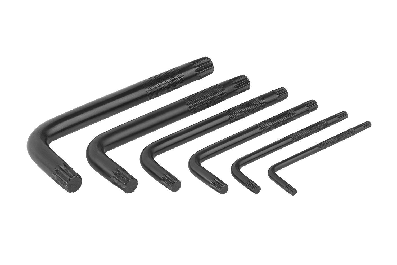 Jogo de Chave Multidentada 6 Peças 4 a 12mm Worker