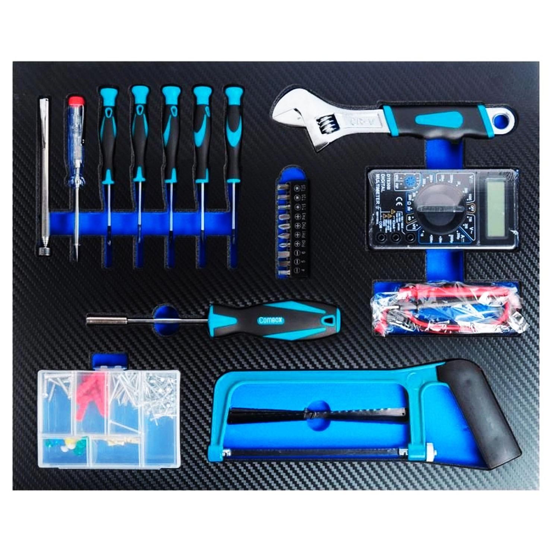 Kit Ferramentas 299 Peças com Multímetro G19565AC Gamma