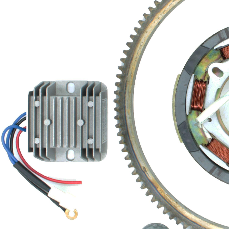 Kit Partida Elétrica Motores Diesel de 5 a 10HP
