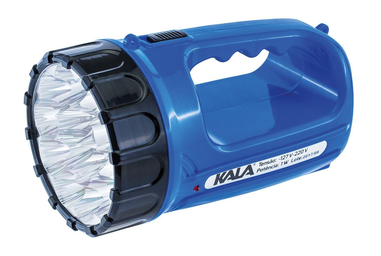 Lanterna 15 Leds Recarregável Bivolt 127/220V Kala