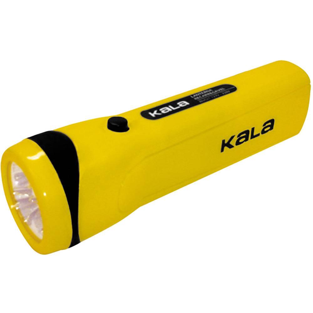 Lanterna Super Led Recarregável Bivolt 127/220V Kala