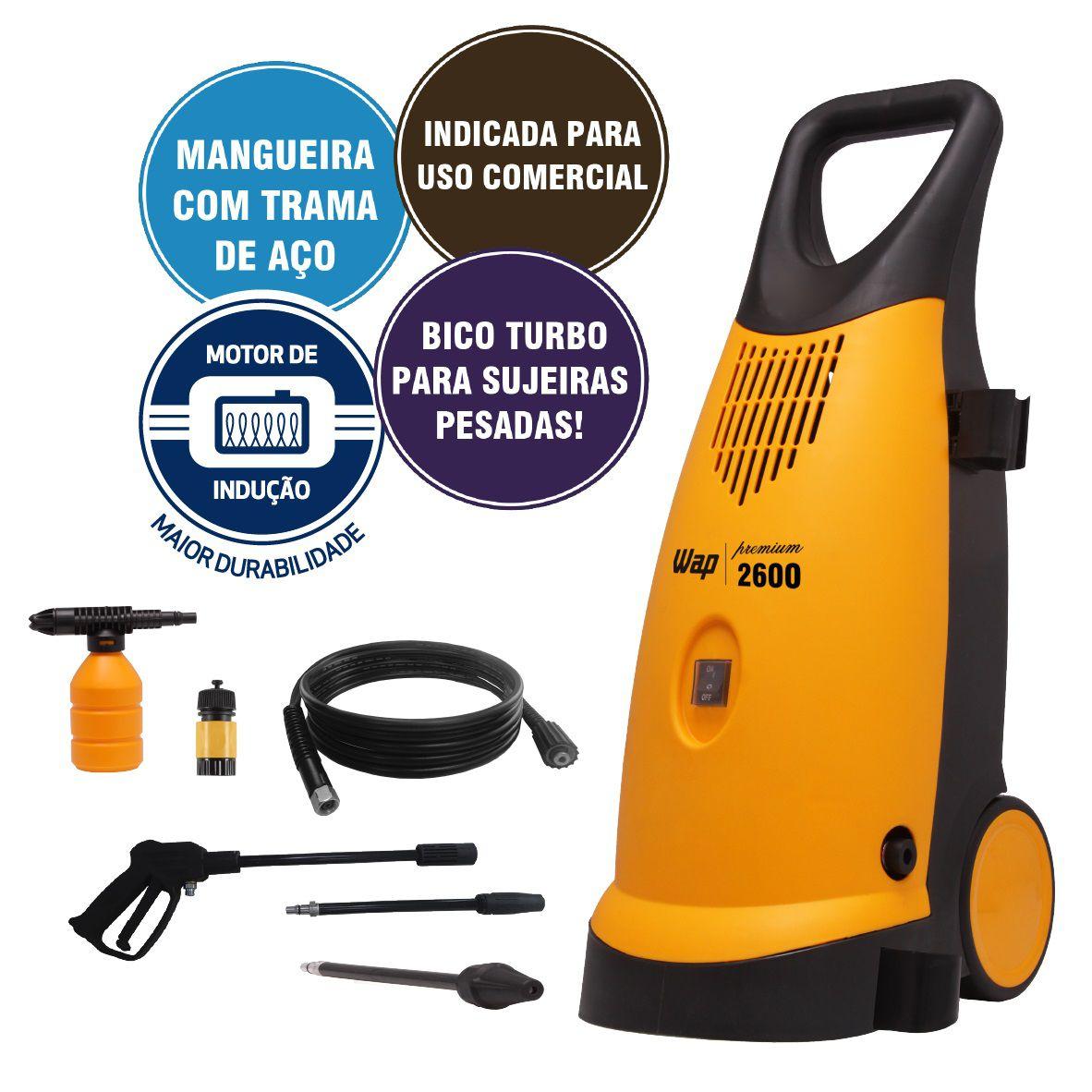 Lavadora Alta Pressão Wap Premium 2 1900W Wap