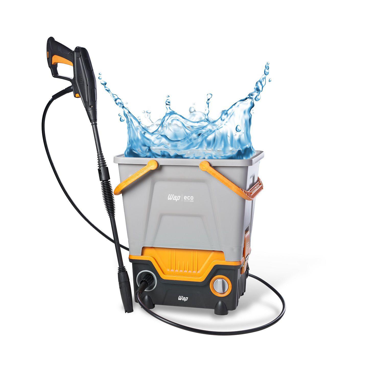 Lavadora de Alta Pressão Água Reutilizável 1750W 1700Psi Wap