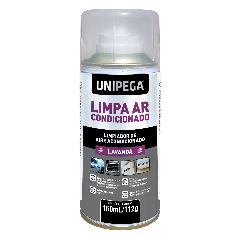 Limpa Ar Condicionado Lavanda 160ml 112g Unipega