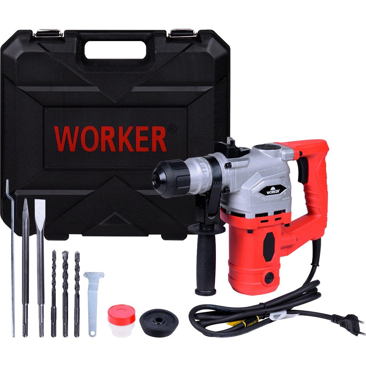 Martelete Perfurador Rompedor 900W Worker