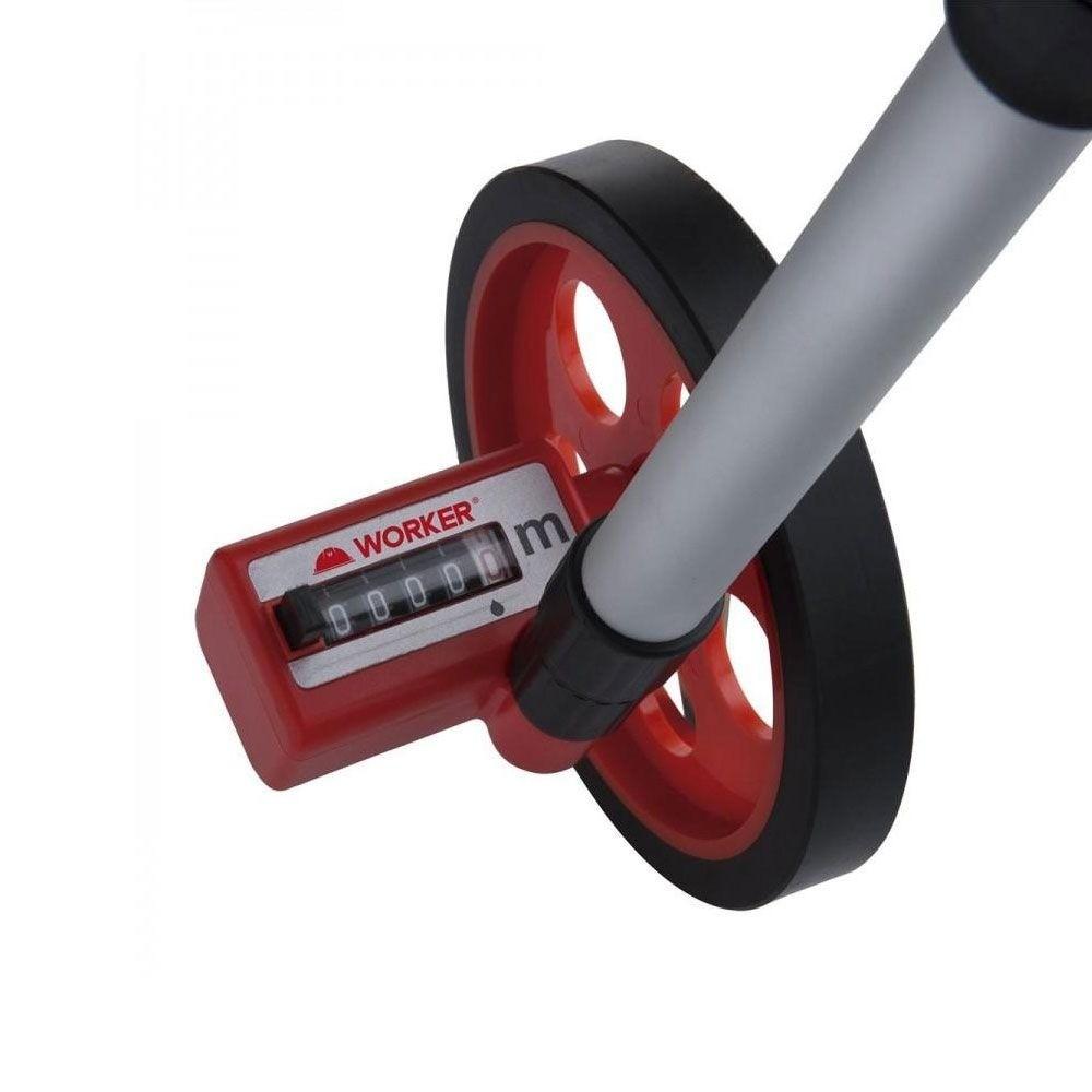 Medidor e Totalizador de Distância com Roda ATÉ 999m Worker