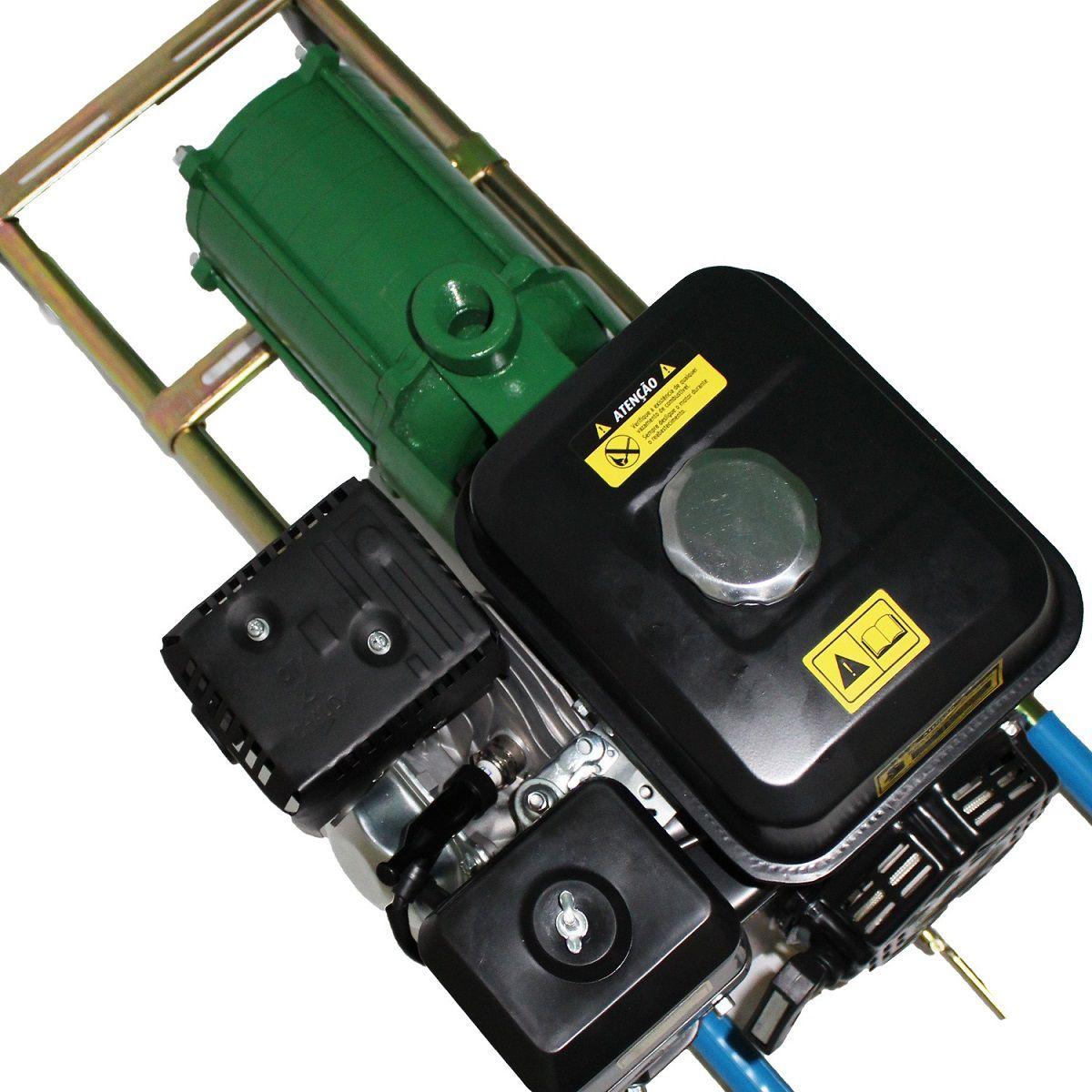 Motoboma 6 Estagios Irrigação Alta Pressão 7.0hp Cv Gasolina