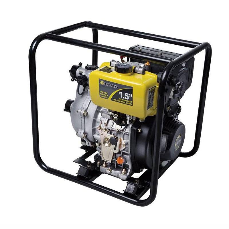 "Motobomba Alta Pressão a Diesel 7HP 1,5"" Partida Manual Matsuyama"