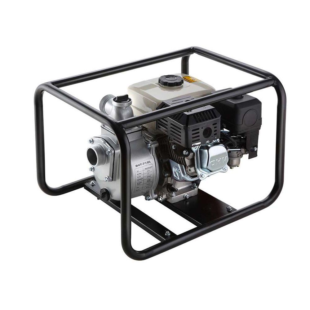 Motobomba Autoescorvante a Gasolina 4T 5.5HP B4T710L Branco