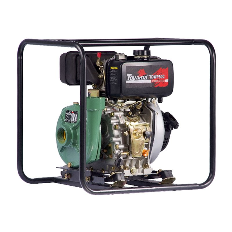 Motobomba Diesel 7hp Irrigação Incêndio Tdwp50c Toyama