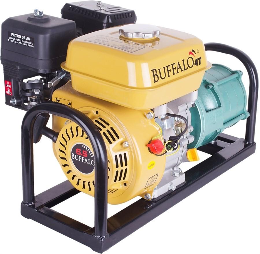 Motobomba Multiestágio a Gasolina 6.5 HP BFG P11/4-1x1 Buffalo