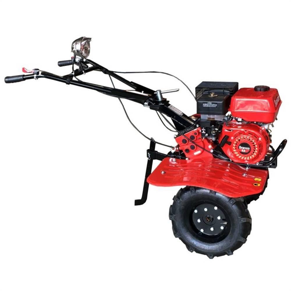 Motocultivador Tratorito 6.5HP  com Rodas e Enxadas Branco