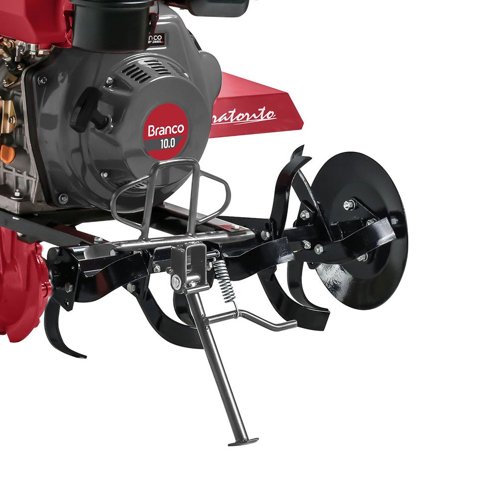 Motocultivador Tratorito Diesel 10HP BTTD-10 1350 Branco