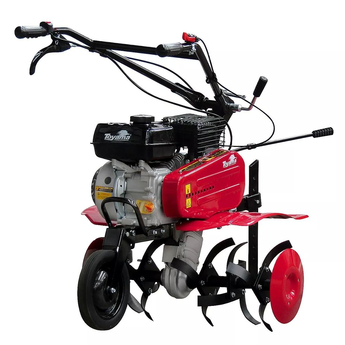 Motocultivador Tratorito Gasolina 6.5HP TT60R Rodas e Enxadas Toyama