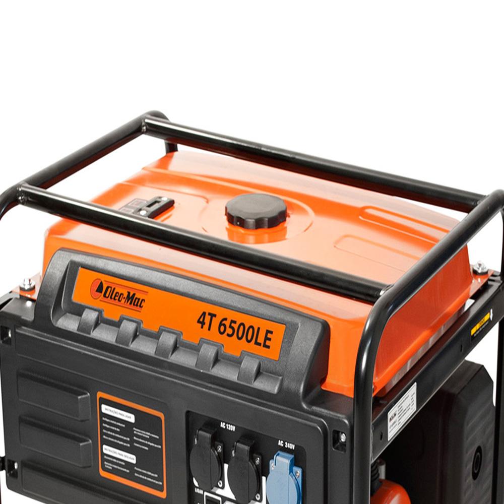 Gerador Gasolina 4 Tempos Partida Elétrica 6500LE Oleo-Mac