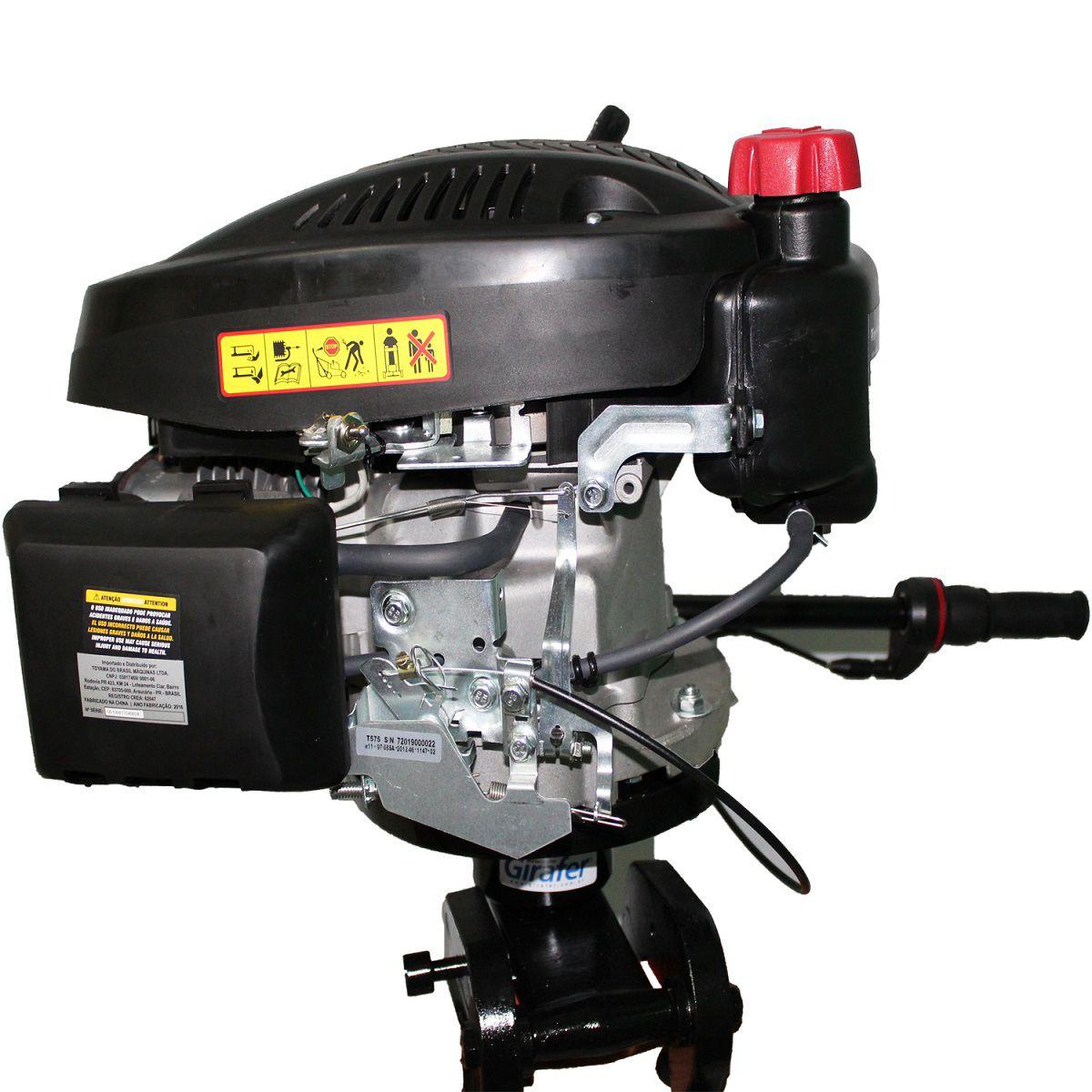 Motor Barco Rabeta 5.75HP 173CC 4 Tempos Gasolina Toyama