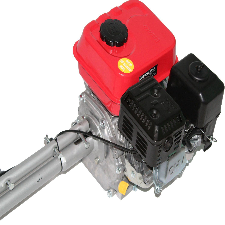 Motor Com Rabeta Branco 5.5 Hp 4 Tempos Gasolina