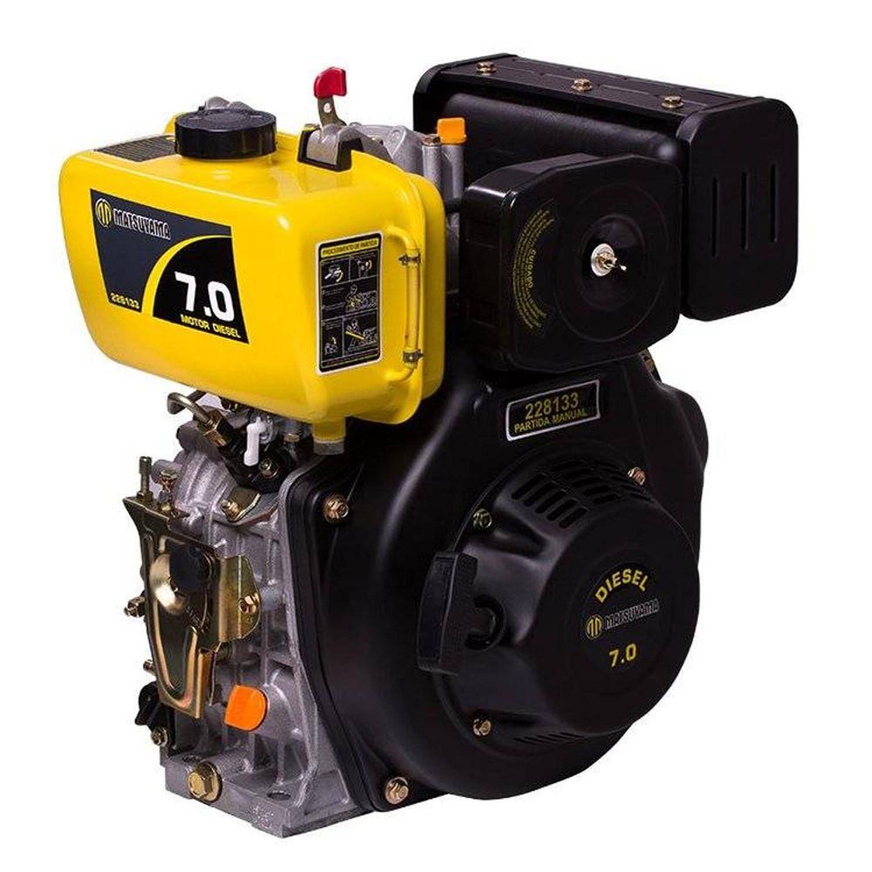 Motor de Popa a Diesel 7HP 296cc com Rabeta 1.70M