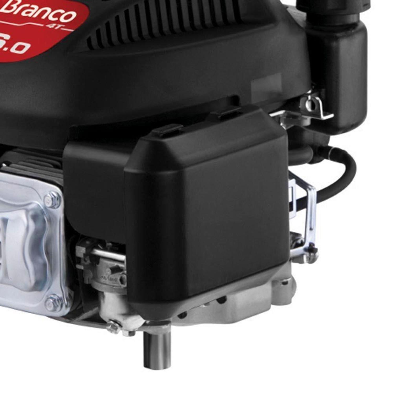 Motor Eixo Vertical Gasolina 4 Tempos 6HP B4T-6.0 G3 Branco