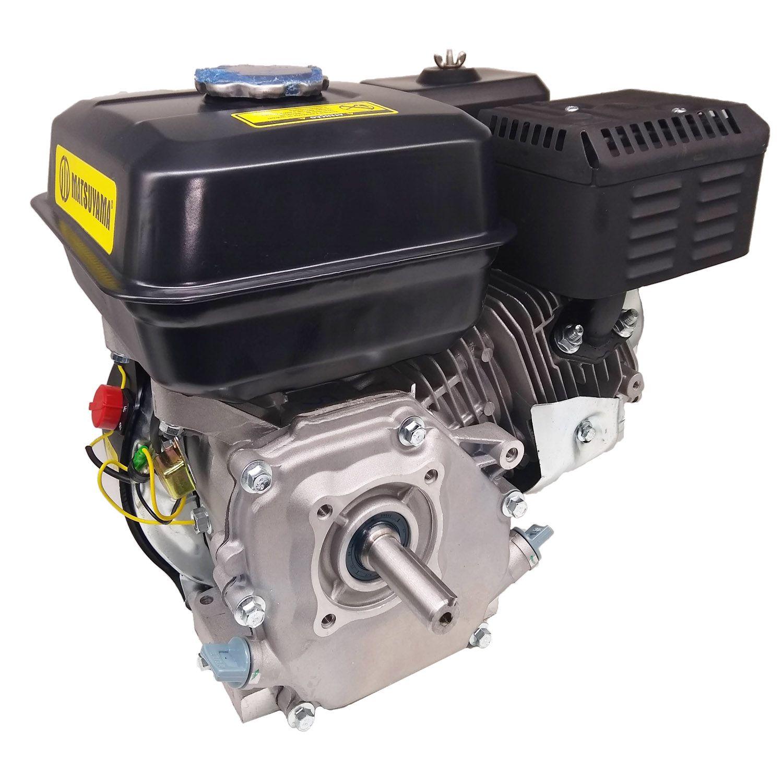 Motor Horizontal a Gasolina 6.5 HP 196CC 4T Partida Manual Matsuyama