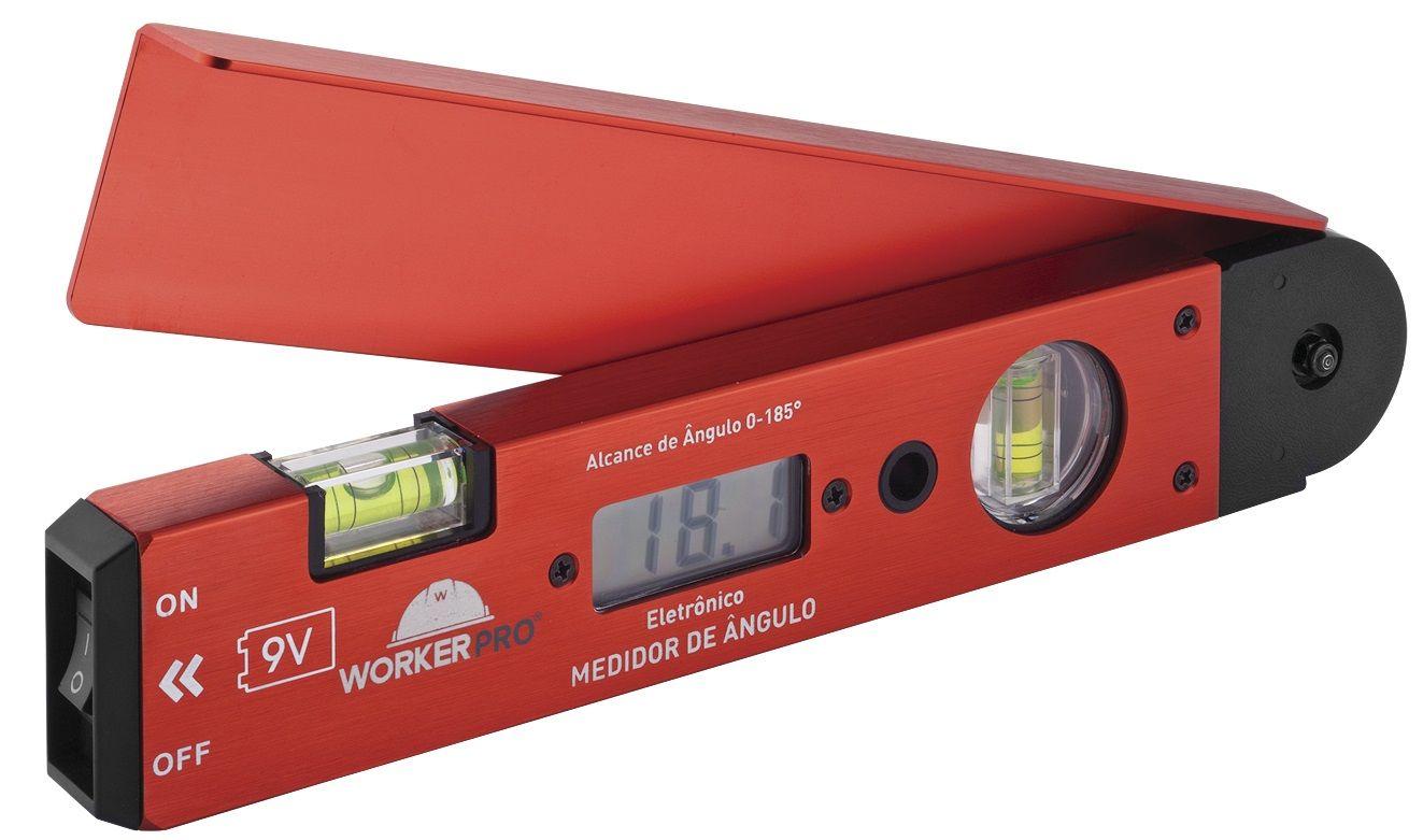 Nivel a Laser Digital 2 Bolhas 250mm Worker