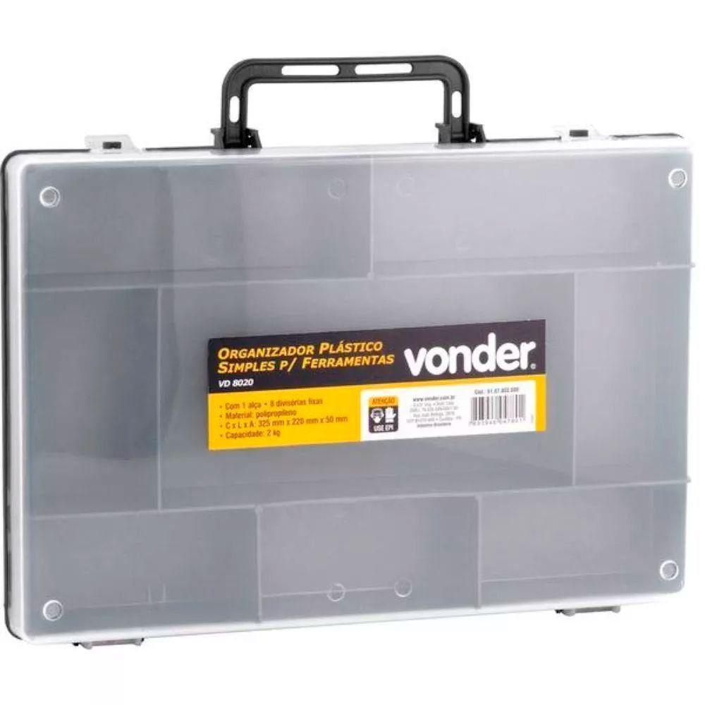 Organizador de Plástico Simples VD8020 Vonder