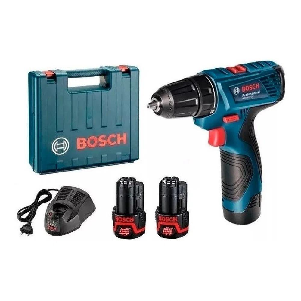 Parafusadeira e Furadeira a Bateria Sem Fio GSR 120Li Bosch