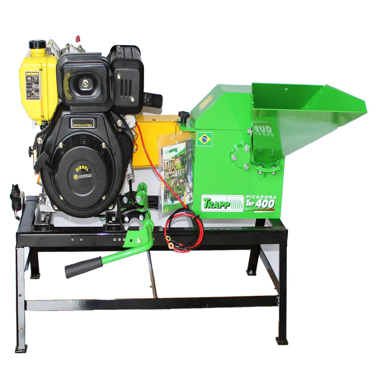 Picador Forrageiro TRP400 a Diesel 7HP Partida Elétrica