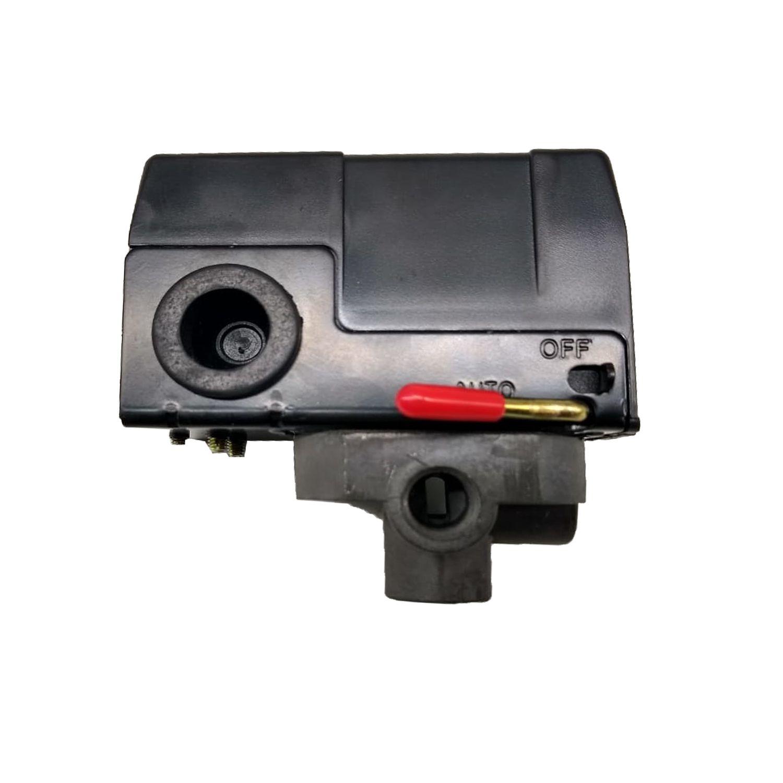 Pressostato Automático 100/140lbs 4 Vias Alavanca Motomil