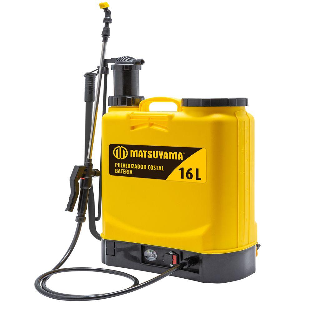 Pulverizador Costal a Bateria Bivolt 16L Profissional Matsuyama