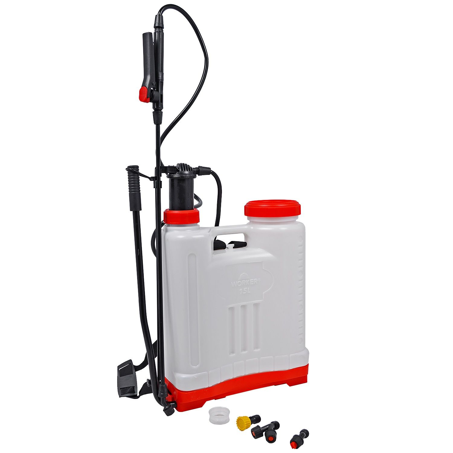 Pulverizador Costal Manual 15 Litros Worker