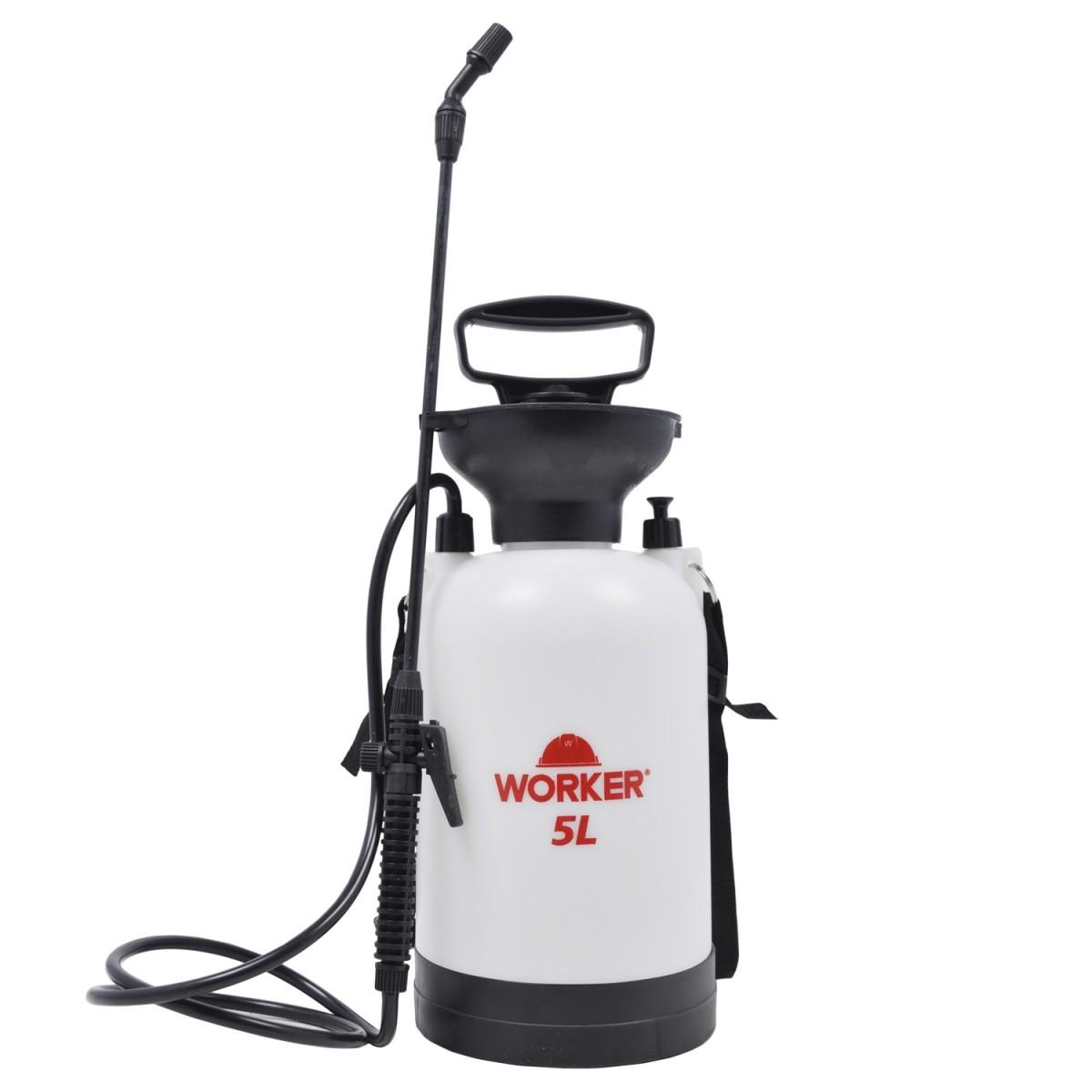 Pulverizador de Compressão Prévia 5 Litros Worker