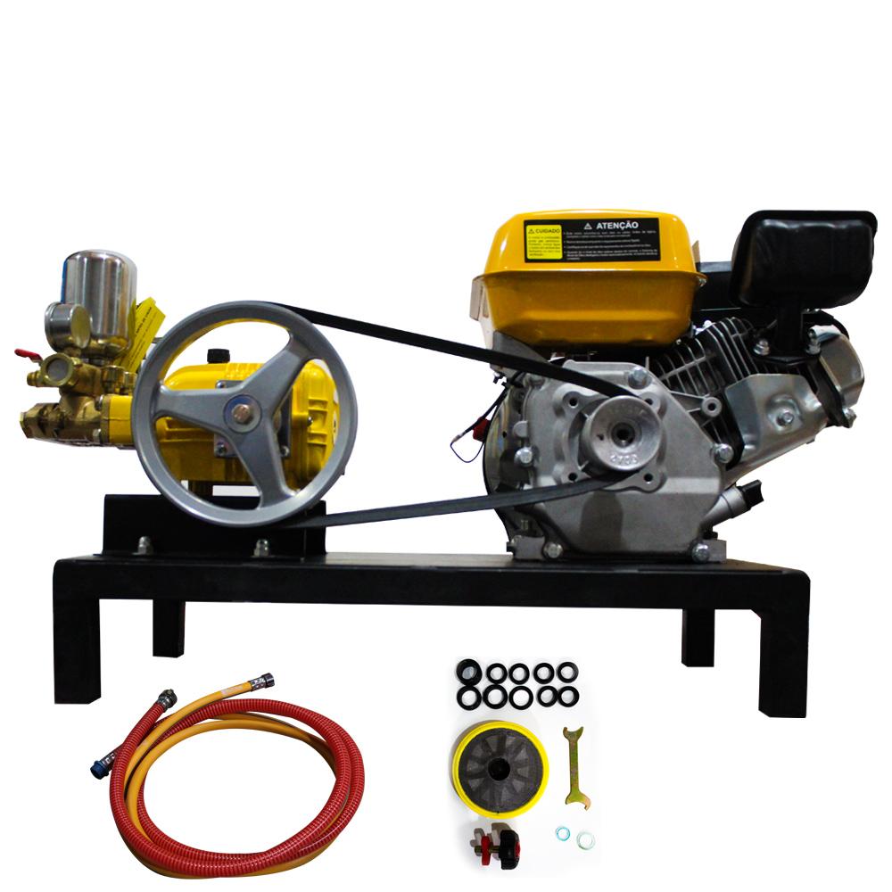 Pulverizadora a Gasolina 4T Partida Manual 5.0HP Briggs