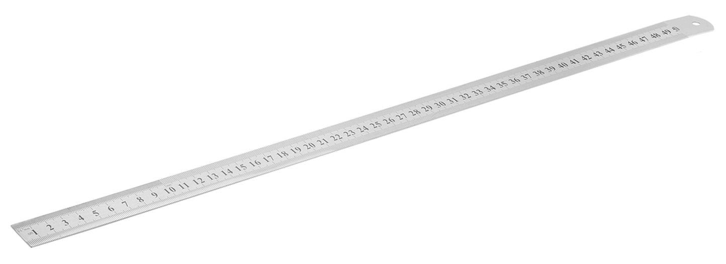 Régua Aço Inox 500mm (50 Centímetros) Worker