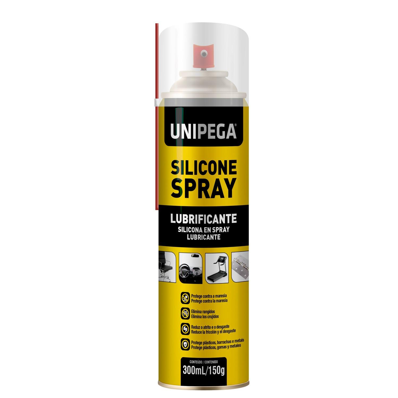 Silicone Spray Aerosol Lubrificante 300ML 150G Unipega
