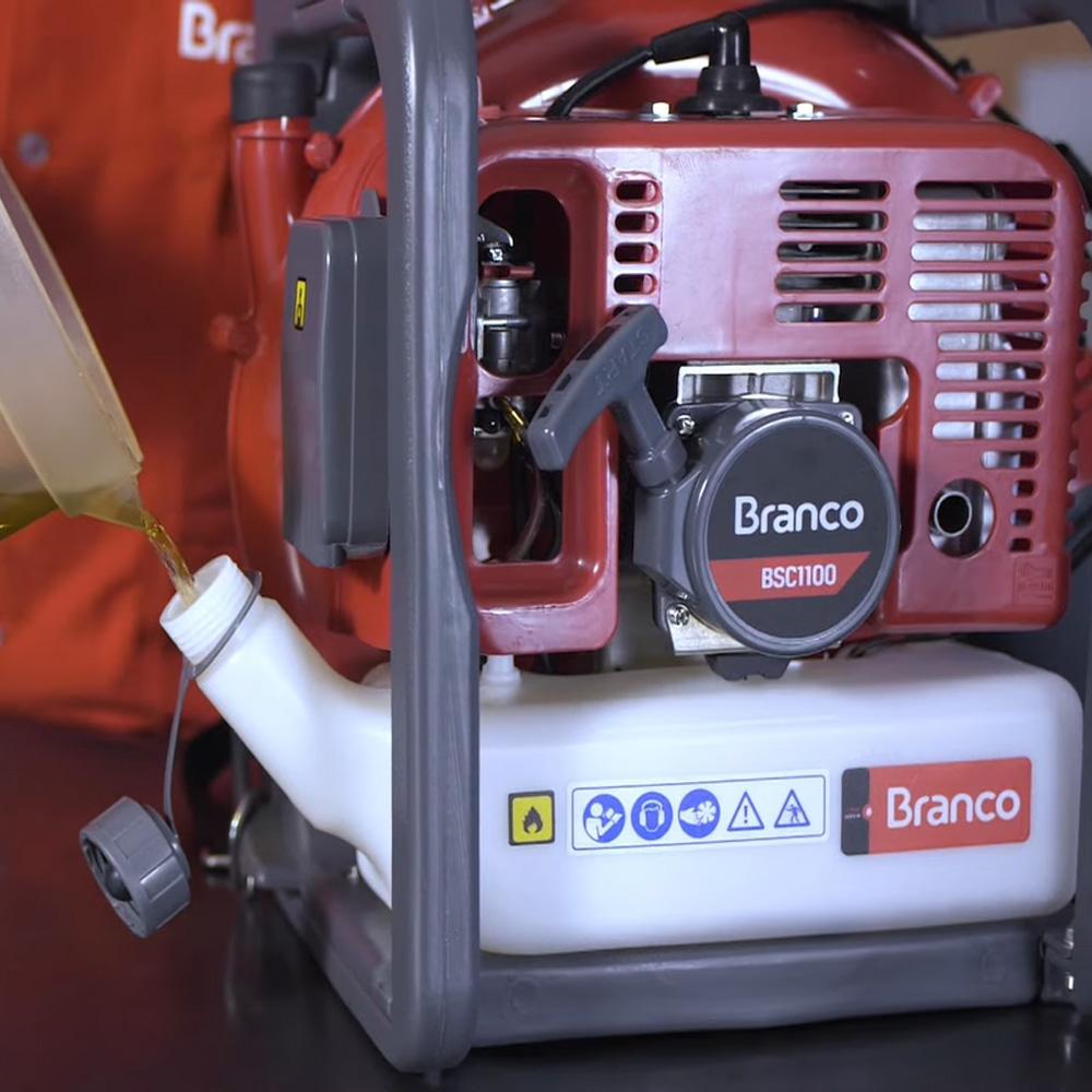 Soprador Costal a Gasolina BSC1100 2 Tempos Branco