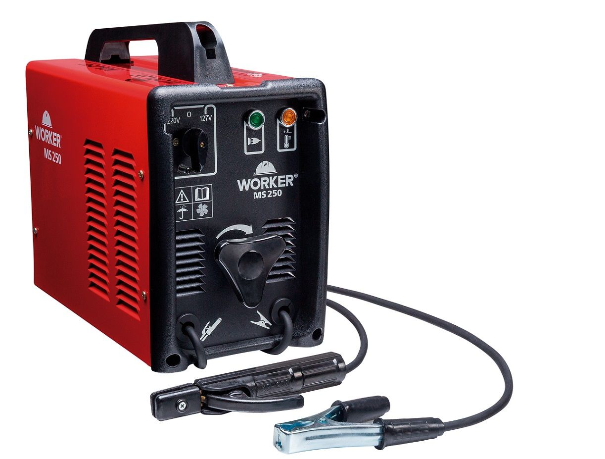 Transformador de Solda 250a Bivolt MS-250 Worker