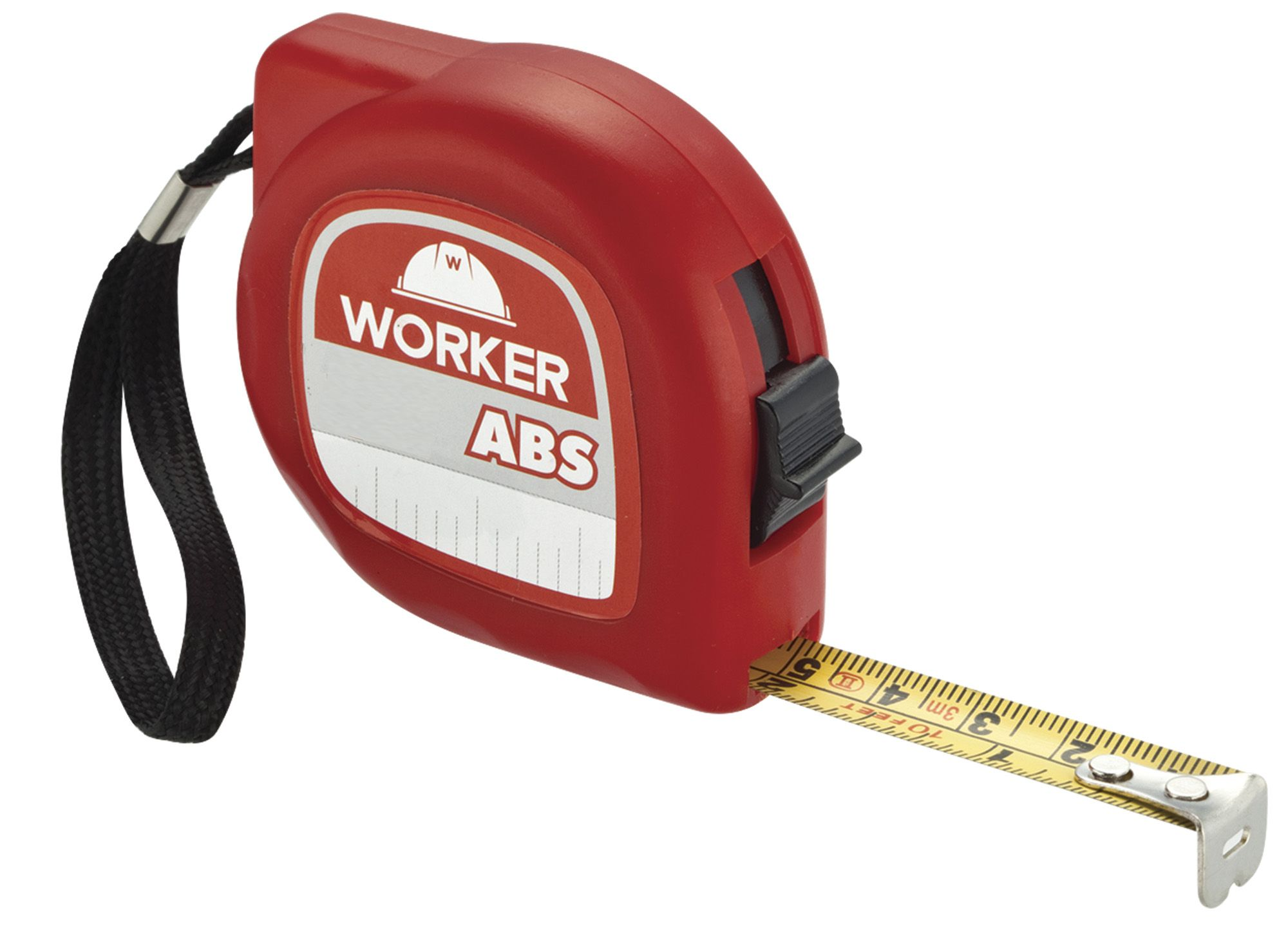 Trena em ABS 2 Metros Cinta 12,5mm Worker
