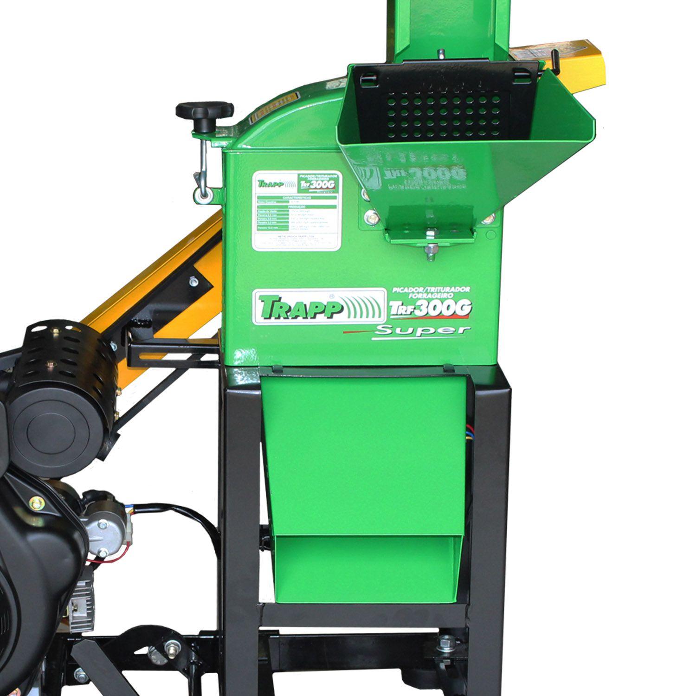 Triturador De Grãos E Folhagem a Diesel 7HP Partida Elétrica