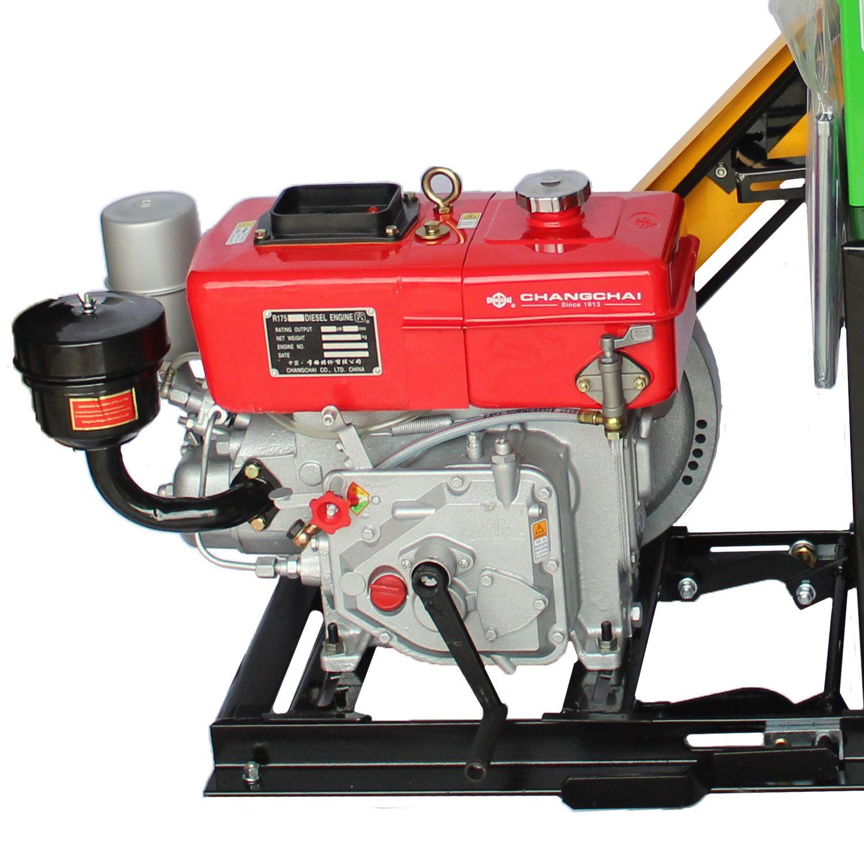 Triturador De Grãos Folhagem Diesel Refrigerado Água 6.6HP Trapp