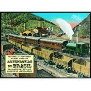 As ferrovias do Brasil nos cartões-postais e álbuns de lembranças
