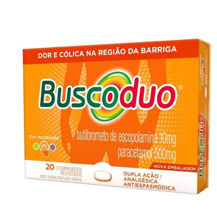 BUSCODUO 500MG 20 CPR